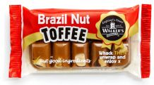 Walkers Nonsuch Brazil Nut Toffee Bar Slab 100g